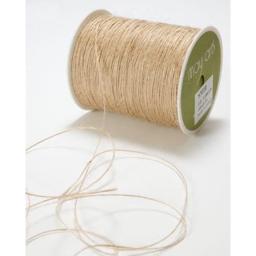May Arts Natural 1mm Burlap Twine String - 10 Yards