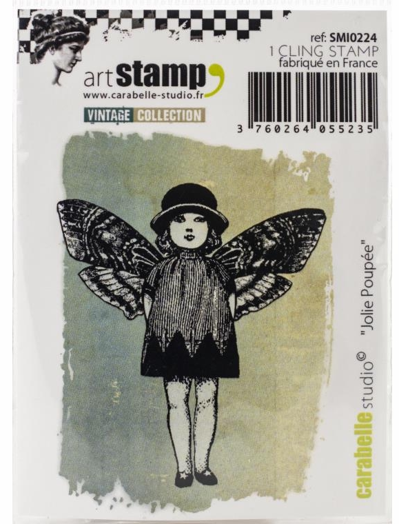 Carabelle Studio Art Stamps - Pretty Doll