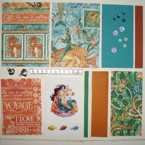 Artist Trading Card Kit of the Month - Sept. 2016 Mermaid