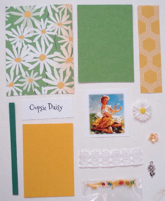 Artist Trading Card Kit of the Month - Sept. 2018 Oopsie Daisy!