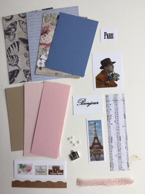 Artist Trading Card Kit of the Month - Sept. 2019 Paris