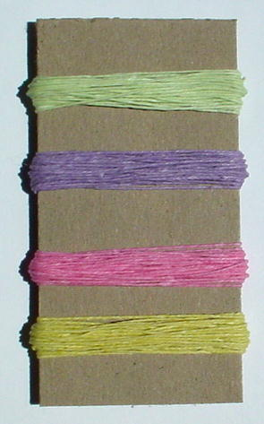 Irish Waxed Linen Book Binding Thread - Spring Combo Asst.