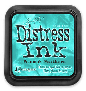 Ranger Tim Holtz Distress Ink - Peacock Feathers