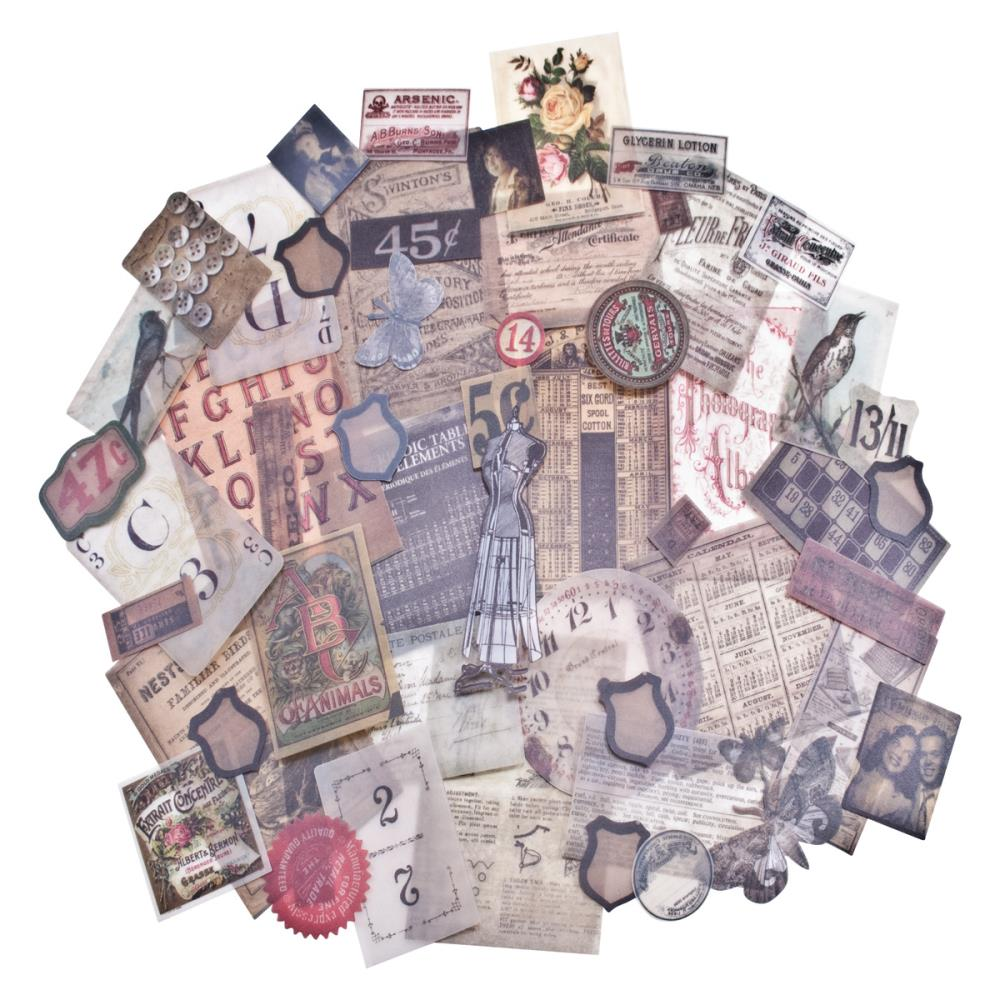 Tim Holtz Idea-ology Vellum Ephemera Pack Thrift Shop