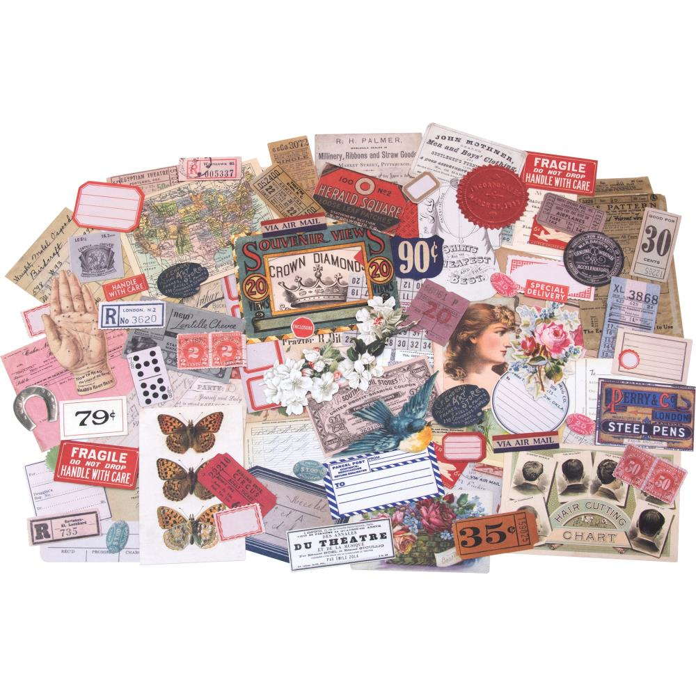 *NEW Tim Holtz Idea-ology Ephemera Pack Keepsakes