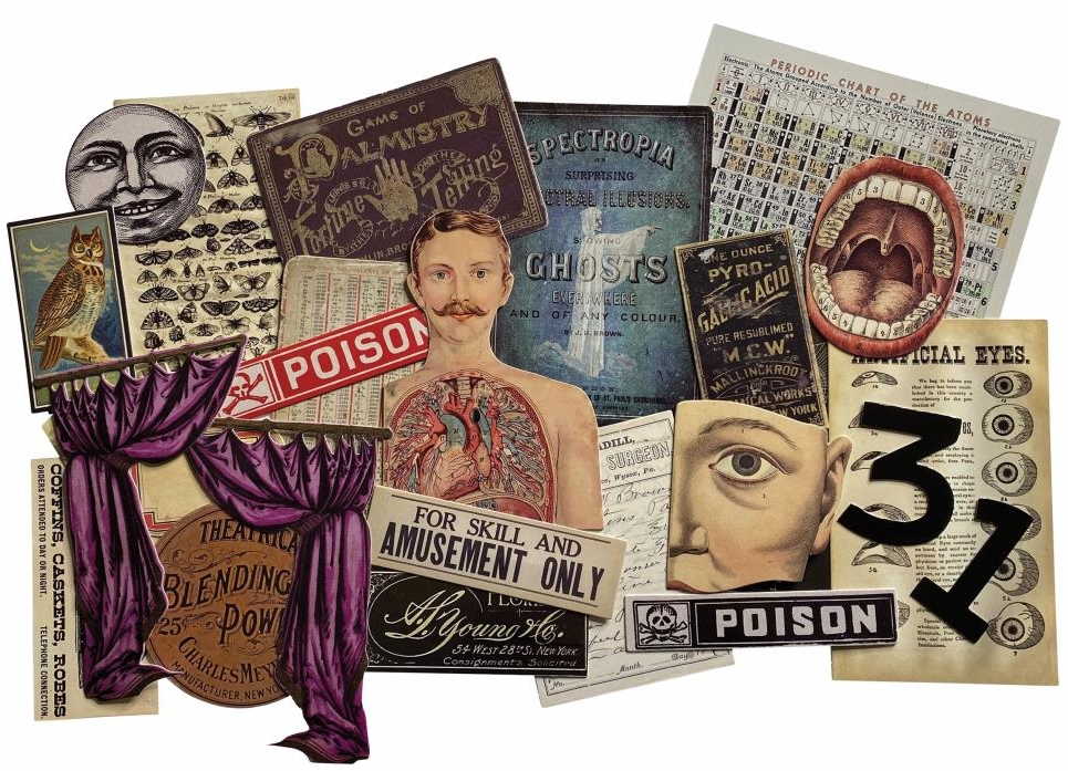 *NEW 2020 Tim Holtz Idea-ology Ephemera Layers - Halloween