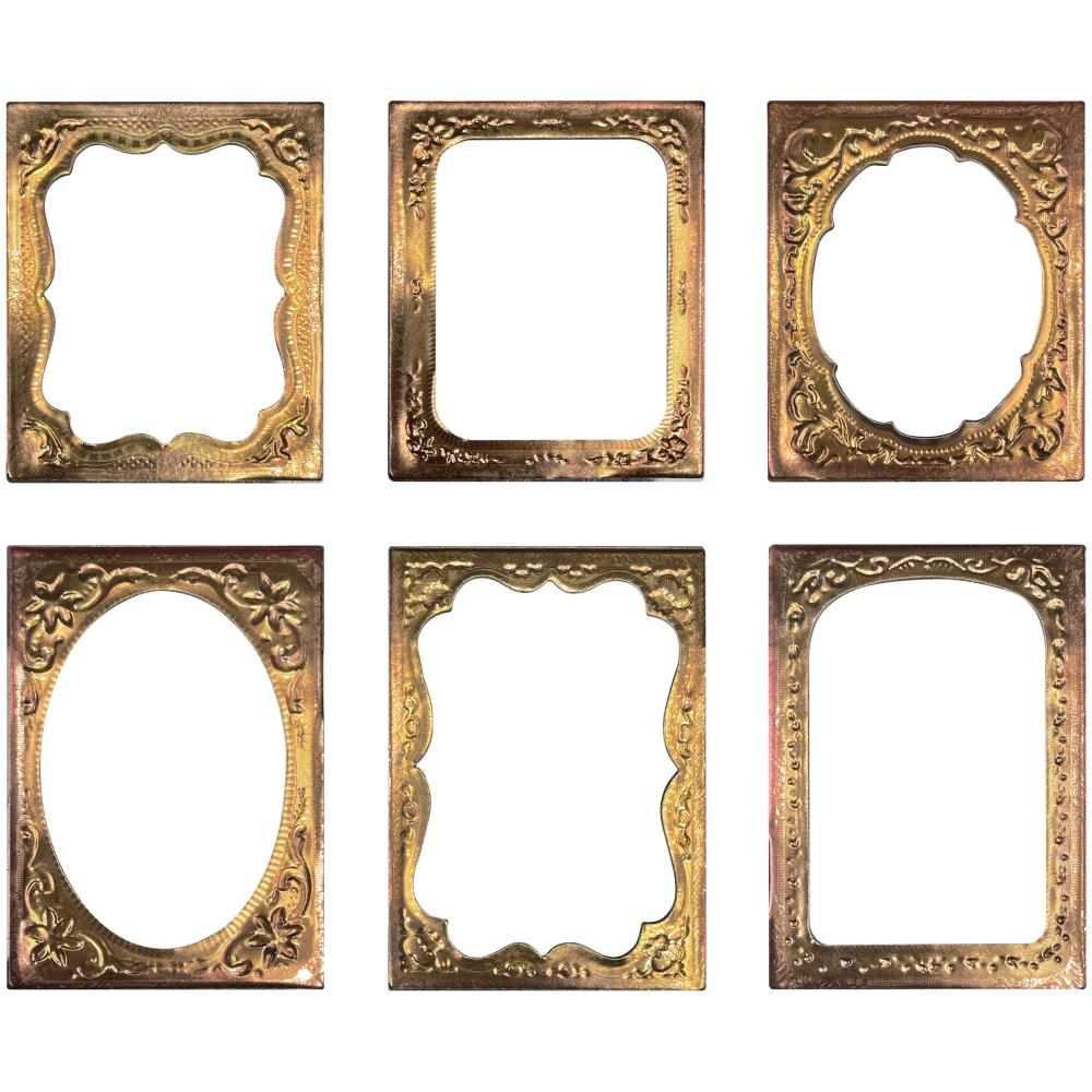 *NEW Tim Holtz Idea-ology Curio Frames 6/Pack
