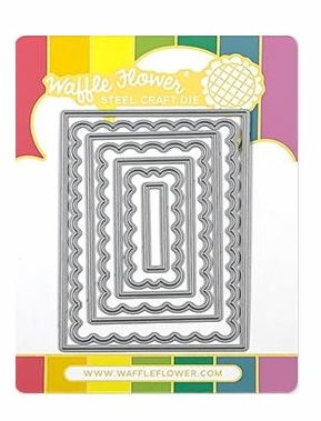 *NEW* Waffle Flower Crafts ATC Layers Dies