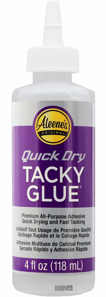 *NEW Aleene's Tacky Glue - Quick Dry - 4 Oz. Bottle