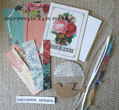 Artist Trading Card Kit of the Month - April 2013 Spring Color