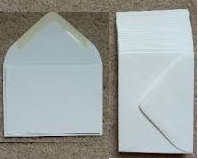 15 - Premium Quality White ATC Envelopes 2 3/4 in. X 3 3/4 in.