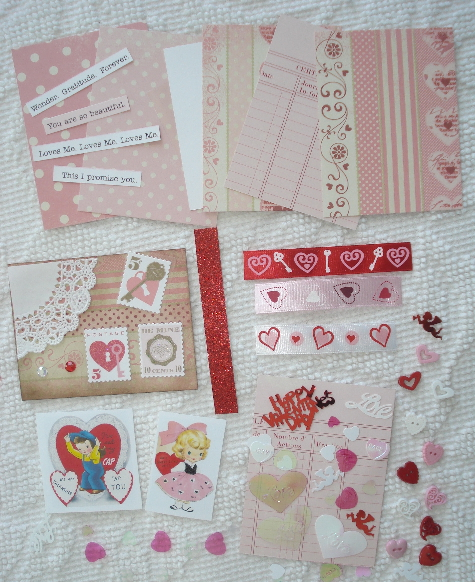 Artist Trading Card Kit of the Month - February 2011 Valentines