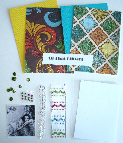 Artist Trading Card Kit of the Month - Aug 2010 Glam/Glitter