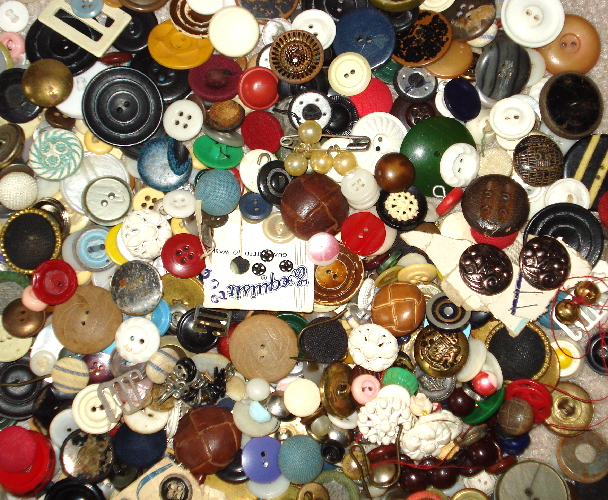 40 Vintage and Antique Buttons by yourATCstore