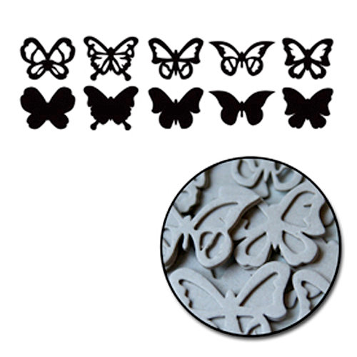 Maya Road Large Butterfly Chipboard Set