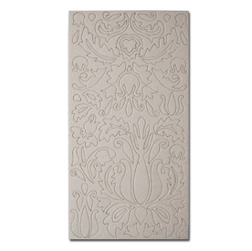 Maya Road Damask Die-cut Chipboard Shapes Sheet