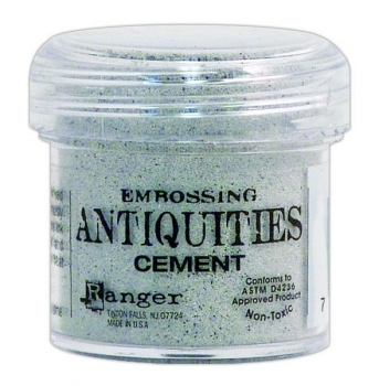Ranger Antiquities Embossing Powder - Cement