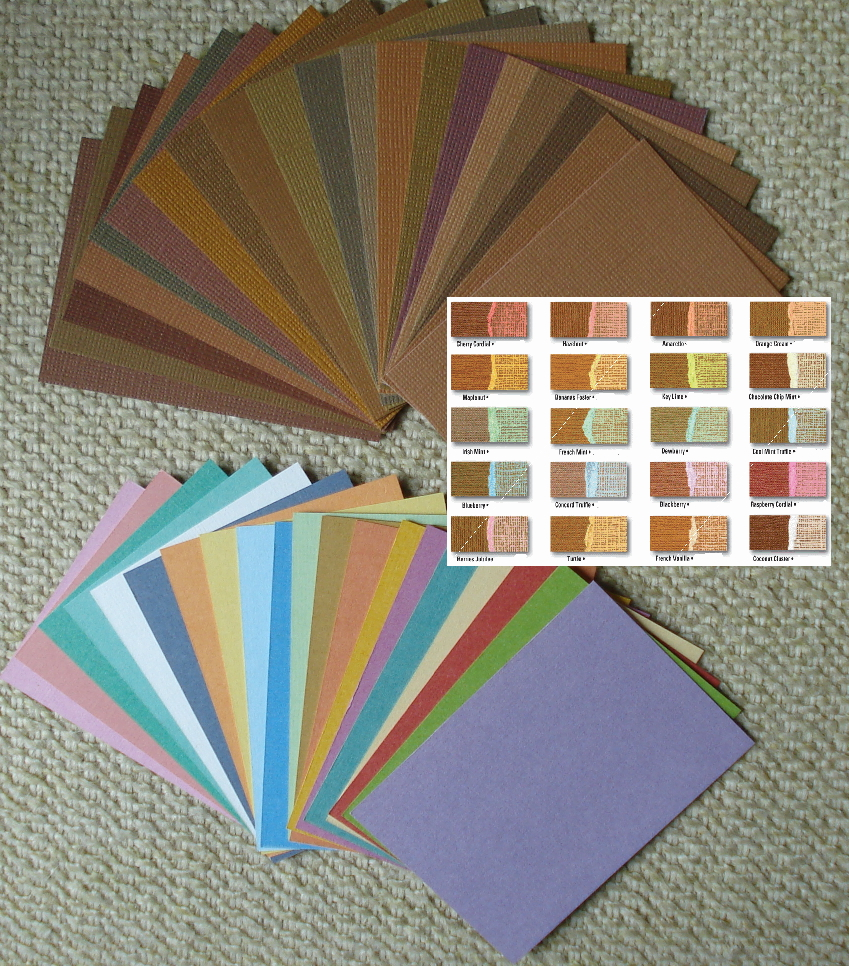 Core'dinations Color Core Cardstock ATCs - Chocolate Box - 20/Pk