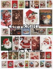 yourATCstore Christmas Mini Pix & More Collage Sheet
