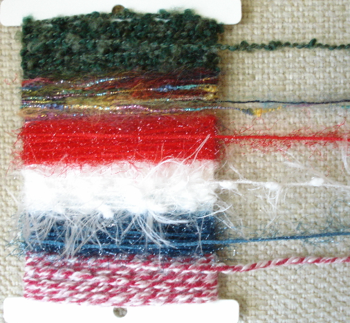 yourATCstore Fiber Collection - Shades of Christmas & Winter