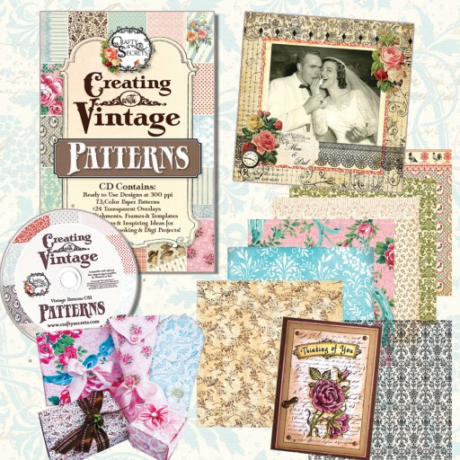 Crafty Secrets Creating with Vintage Patterns CD