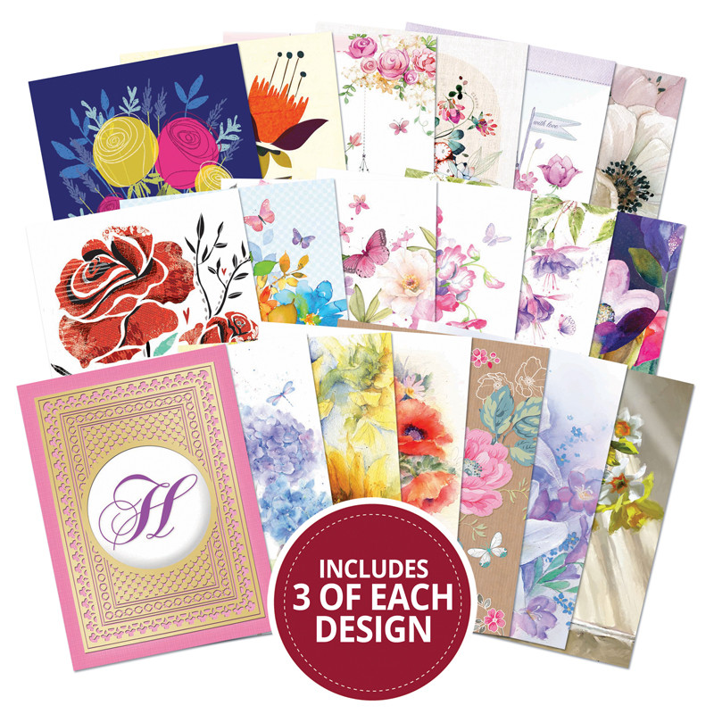 *NEW Hunkydory Crafts Topper Decks - Forever Florals