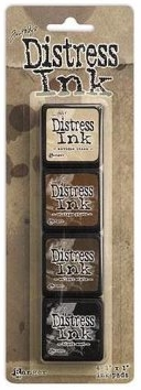 *NEW Ranger Tim Holtz Distress Mini Ink Pad Kit #3