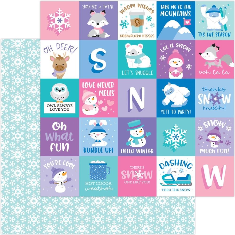 Doodlebug Designs 12 x 12 Winter Wonderland - Snow Much Fun
