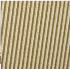 Canvas Corporation C-Fluted Corrugated 12 x 12 Paper - Kraft