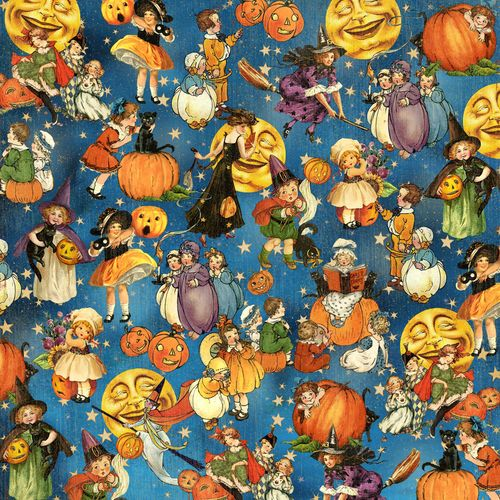 Graphic 45 Happy Haunting 12 x 12 Paper Trick or Treat
