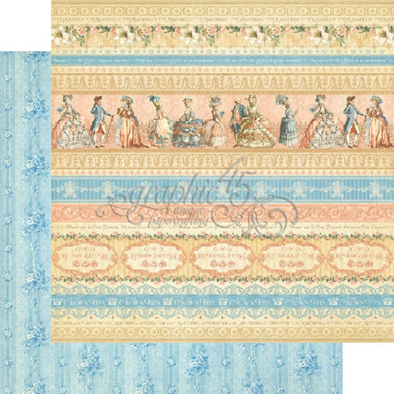 Graphic 45 12 x 12 Gilded Lily Collection - Royal Gardens