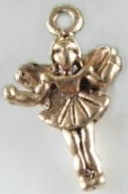 Fairy - Gold Small Standing Charm