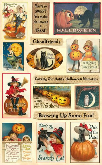 Crafty Secrets Heartwarming Vintage Cuts Halloween Time