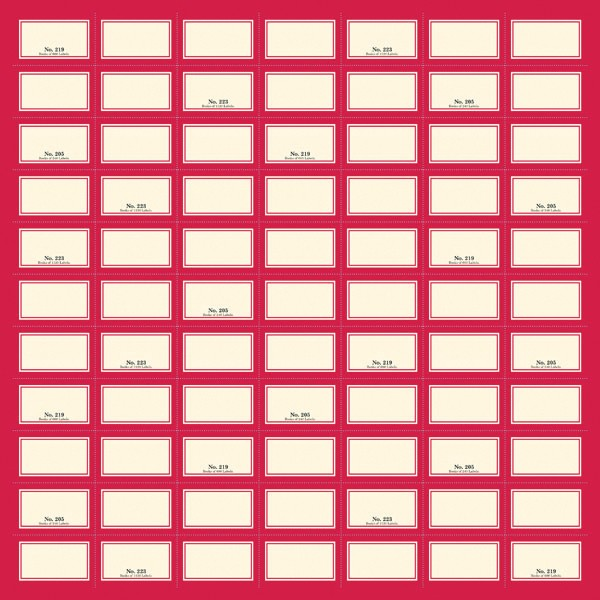 Jenni Bowlin Studio 12 x 12 Label Sheet Perforated Paper