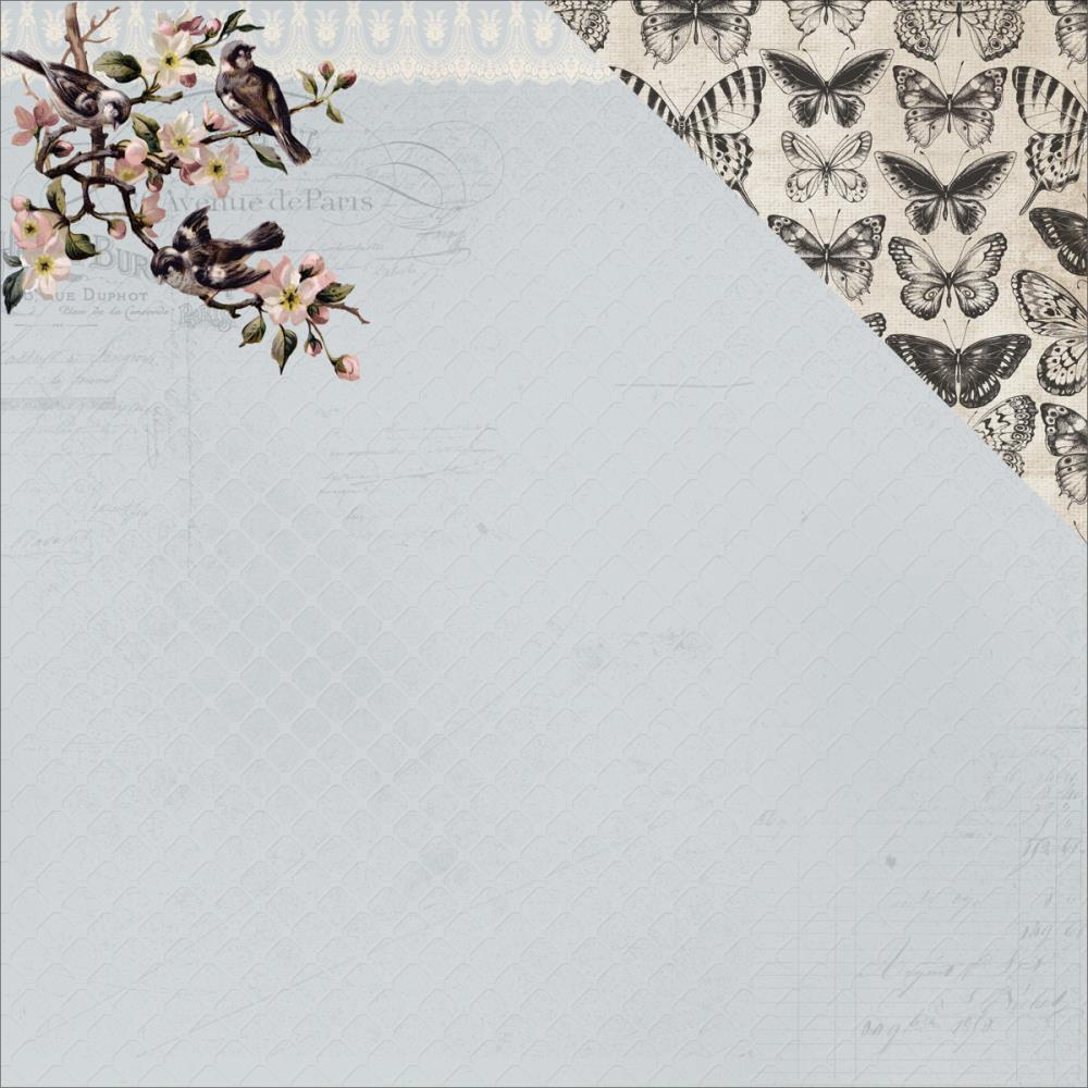 Kaisercraft 12 x 12 Romantique Collection - Primrose