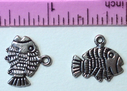 From the Ocean - Silver Fish - Striped