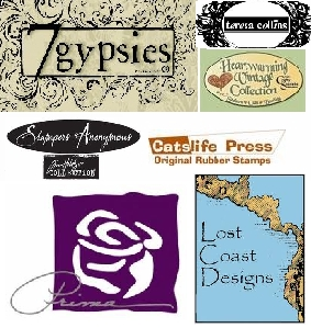 ATC Rubber Stamps - Background