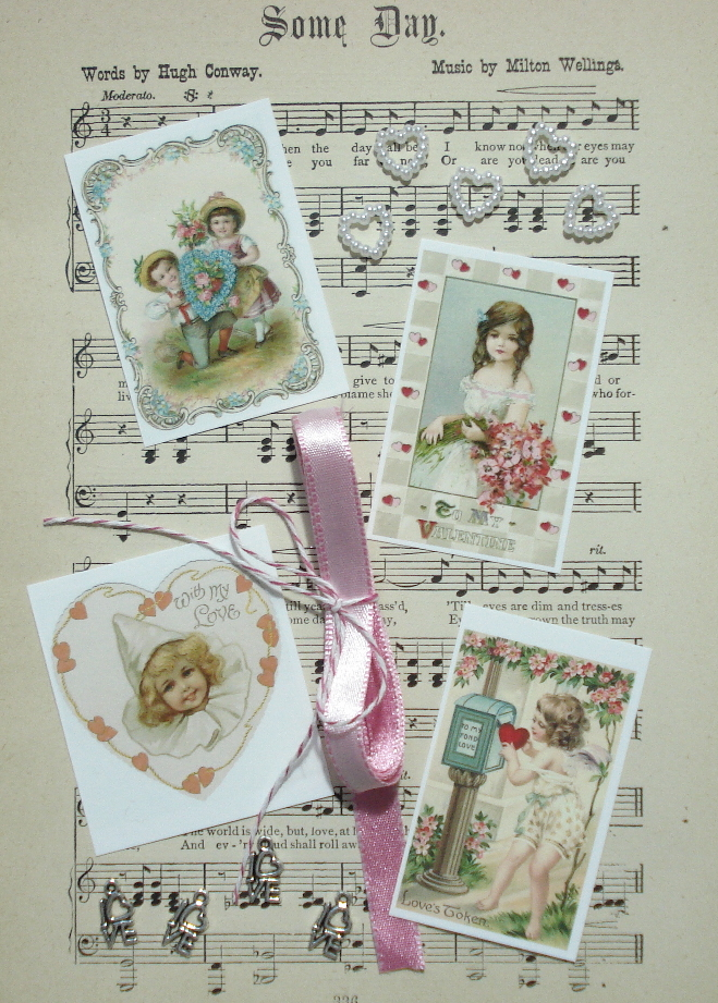 ATC Valentine Embellishment Kit - Love's Token
