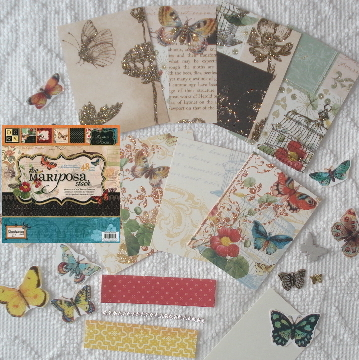 Artist Trading Card Kit of the Month - May 2011 Butterflies