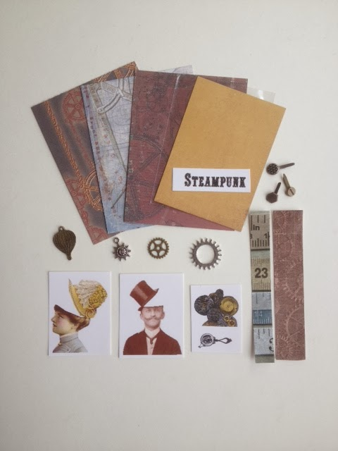 Artist Trading Card Kit of the Month - Nov. 2013 Steampunk