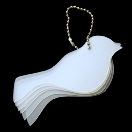 Maya Road Bird Sheer Keychain Set