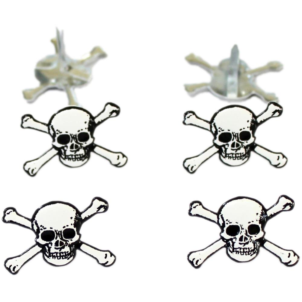 Eyelet Outlet Skull Brads - 12/package