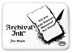 Ranger Industries Archival Ink Pad - Jet Black
