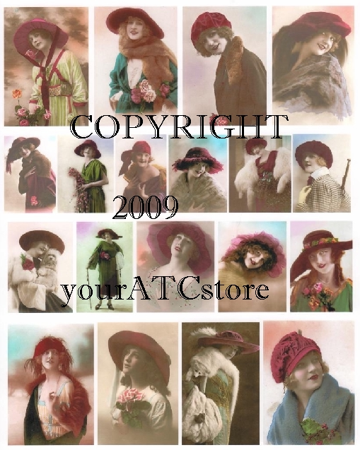 yourATCstore Red Hat Club Collage Sheet