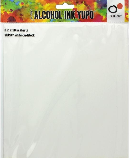 "*NEW Yupo Cardstock 8"" x 10"" White for Alcohol Ink"