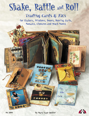 ATC Shake, Rattle & Roll Artist Trading Cards & ATC Book