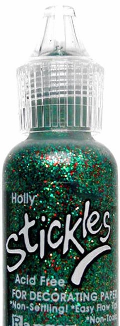Ranger Stickles Glitter Glue .5 oz. Christmas Holly
