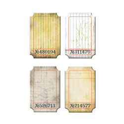 Tim Holtz Idea-ology Journaling Tickets