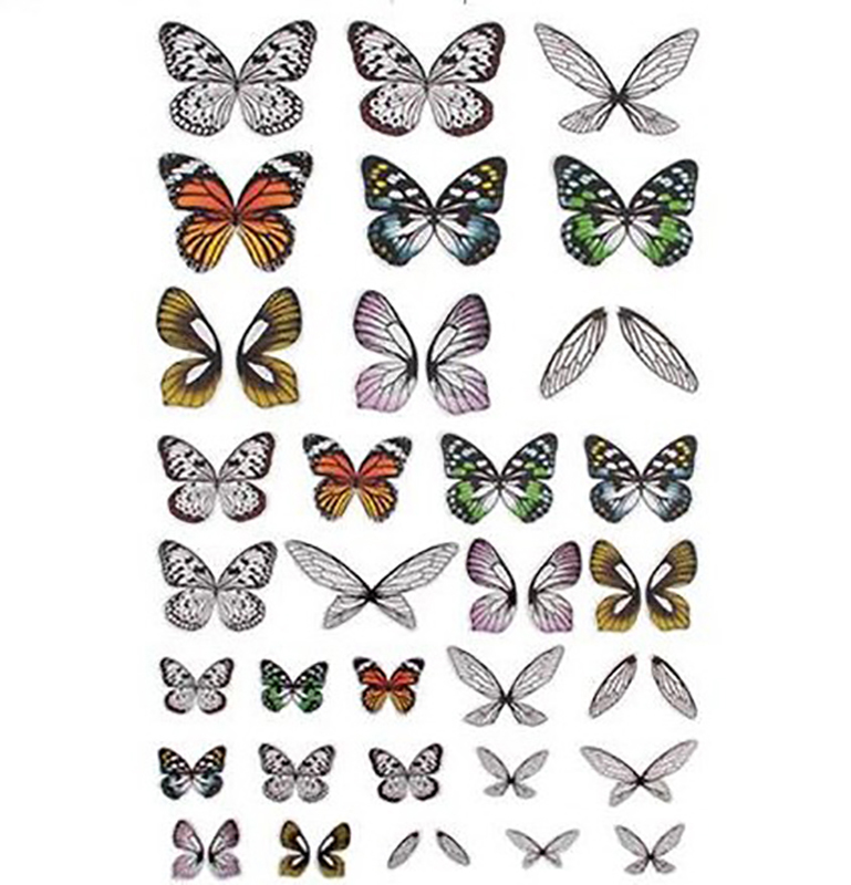 Tim Holtz Idea-ology Transparent Wings 72/pkg.