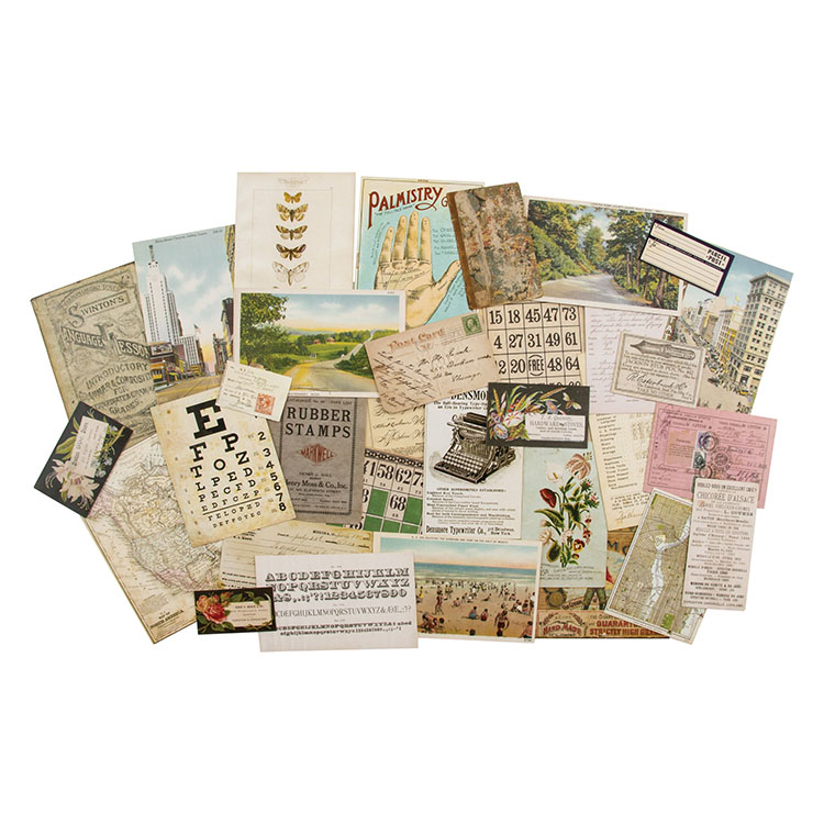 *NEW Tim Holtz Idea-ology Ephemera Paper Layers - Remnants